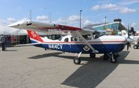 N414CV @ PTK - Civil Air Patrol