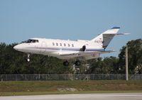 N417TM @ ORL - Hawker 800XP
