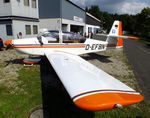 D-EFBN @ EDKV - Sportavia-Pützer RS-180 Sportsman at the Dahlemer Binz 60th jubilee airfield display