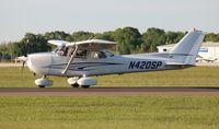N420SP @ LAL - Cessna 172S