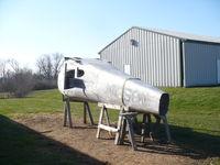N1858V @ 40I - Cessna 140 remains - by Christian Maurer