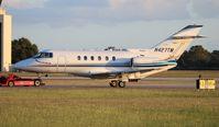 N427TM @ ORL - Hawker 800XP