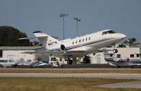 N427TM @ ORL - Hawker 800