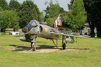23 @ LFRJ - Dassault Super Etendard M, Preserved at Landivisiau Naval Air Base (LFRJ) - by Yves-Q