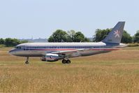 3085 @ LFRJ - Airbus ACJ319, Take off run rwy 08, Landivisiau Naval Air Base (LFRJ) - by Yves-Q