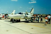 N1205S @ OQU - Aircraft N1205S on display at Quonset State Airport, North Kingstown, RI - circa 1980's - by scotch-canadian