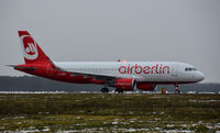 D-ABNX @ EHWO - Air berlin A320 - by fink123
