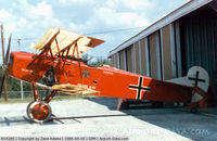D1875-18 @ GPM - Doc Morel's Fokker D-VII replica - this aircraft now hangs in the National Museum of Naval Aviation - Pensacola, FL - by Zane Adams