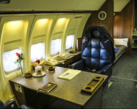 72-7000 - President Ronald Reagan's office on Air Force One - by Jeff Sexton