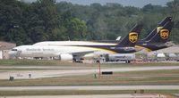 N446UP @ DTW - UPS 757-200