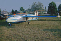 D-EIFF @ LOLW - At Wels airfield, Austria - by sparrow9