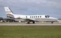 N466SS @ ORL - Citation 550 - by Florida Metal