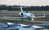 N500N @ DAB - Gulfstream 450