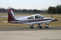 N28250 @ KMIV - Gulfstream American Corp AA-5B Tiger  C/N AA5B0968, N28250