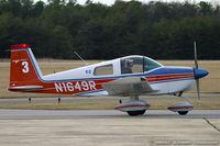 N1649R @ KMIV - Grumman American AA-1B Trainer  C/N AA1B0649, N1649R