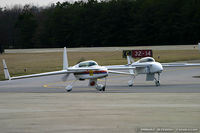N500EZ @ KMIV - Rutan VariEze  C/N 383, N500EZ