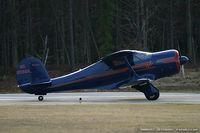 N8589A @ KMIV - Beech G17S Staggerwing  C/N B-18, NC8589A