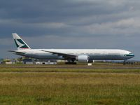 B-KQZ @ NZAA - taking off for asia - by magnaman