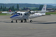 HB-LUN @ LSZG - Preparing at Grenchen - by sparrow9