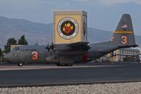 92-1533 @ KBOI - Returning to the NIFC ramp after a mission. 153rd AW, WY ANG. - by Gerald Howard