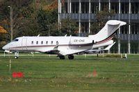 CS-CHD @ EGLF - CS CHD - Netjets Europe Bombardier taxing from runway 06 at Farnborough - by dave226688