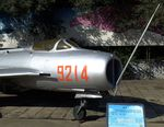 9214 - Shenyang J-6 (chinese version similar to MiG-19S) FARMER at the China Aviation Museum Datangshan - by Ingo Warnecke