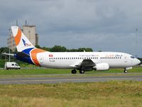 TS-IEG @ LFPG - Karthago Airlines to CDG terminal 3 (now Scat airways UP-B3710) - by JC Ravon - FRENCHSKY