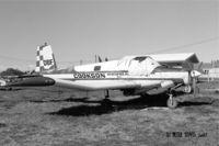 ZK-DBF @ NZGS - Cookson Airspread Ltd., Wairoa