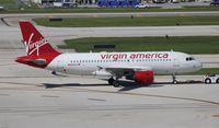 N525VA @ FLL - Virgin America