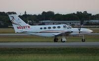N528TW @ ORL - Cessna 421C