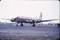 HK-1776 @ MIA - This aircraft has been determined to be DC-6A HK-1776 (c/n 45499), not DC-6B HK-1700, due to cargo door configuration. Thanks to M. Meyer for his help. HK-1776 was lost 07/1999 in Columbia in a landing accident. - by GatewayN727