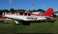 N536AB @ OSH - Beech G36