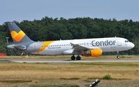 D-AICL @ EDDF - Condor A320 rotating - by FerryPNL