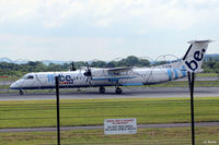 G-ECOM @ EGCC - A view from the viewing enclosure at Manchester EGCC - by Clive Pattle