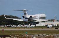 N550GA @ ORL - Gulfstream 550 - by Florida Metal