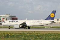 D-AIND @ LMML - A320 Neo D-AIND Lufthansa - by Raymond Zammit