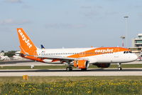 OE-IVT @ LMML - A320 OE-IVT Easyjet Austria