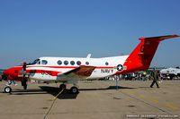 161196 @ KNXX - TC-12B Huron 161196 G-335 from   NAS Corpus Christi, TX - by Dariusz Jezewski www.FotoDj.com