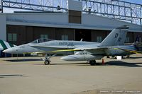 163124 @ KOQU - F/A-18A Hornet 163124 VE-214 from VMFA-115 Silver Eagles  MCAS Beaufort, SC