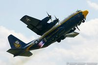 164763 @ KNXX - C-130T Hercules 164763 Fat Albert from Blue Angels Demo Team  NAS Pensacola, FL