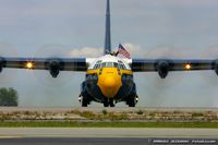 164763 @ KOQU - C-130T Hercules 164763 Fat Albert from Blue Angels Demo Team  NAS Pensacola, FL