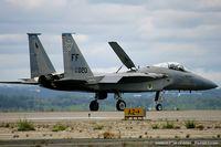 81-0020 @ KOQU - F-15C Eagle 81-0020 FF from 71st FS Iromen 1st FW Langley AFB, VA