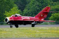 N117BR @ KNXX - PZL Mielec Lim-5 (MiG-17F)  C/N 1C1529, NX117BR - by Dariusz Jezewski www.FotoDj.com