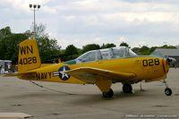 N4028G @ KNXX - Beech D45 (T-34B) Mentor  C/N BG-9, N4028G