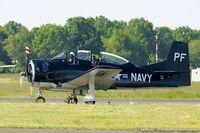 N555PF @ KNXX - North American T-28B Trojan  C/N 138265, N555PF