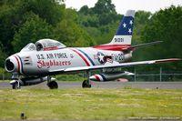 N86FR @ KNXX - North American F-86F Sabre  C/N 52-4959, NX86FR