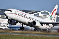 CN-RNJ @ LFBD - RAM793 take off runway 23 to Casablanca - by JC Ravon - FRENCHSKY