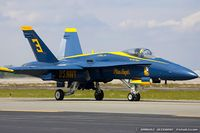 161948 @ KOQU - F/A-18A Hornet 161948 C/N 0157 from Blue Angels Demo Team  NAS Pensacola, FL