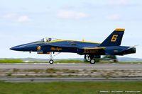 161960 @ KOQU - F/A-18A Hornet 161960 C/N 0172 from Blue Angels Demo Team  NAS Pensacola, FL