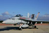 163133 @ KOQU - F/A-18A Hornet 163133 AC-200 from VMFA-115 Silver Eagles  MCAS Beaufort, SC